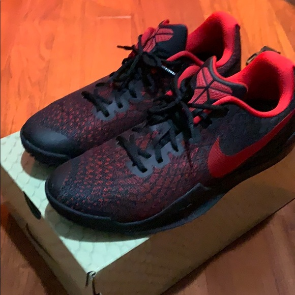 Black Instinct Size Nike Mamba Poshmark 11 Red ShoesKobe WEI9DH2